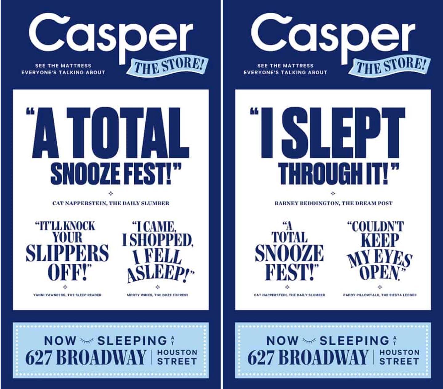 Casper Sales Process