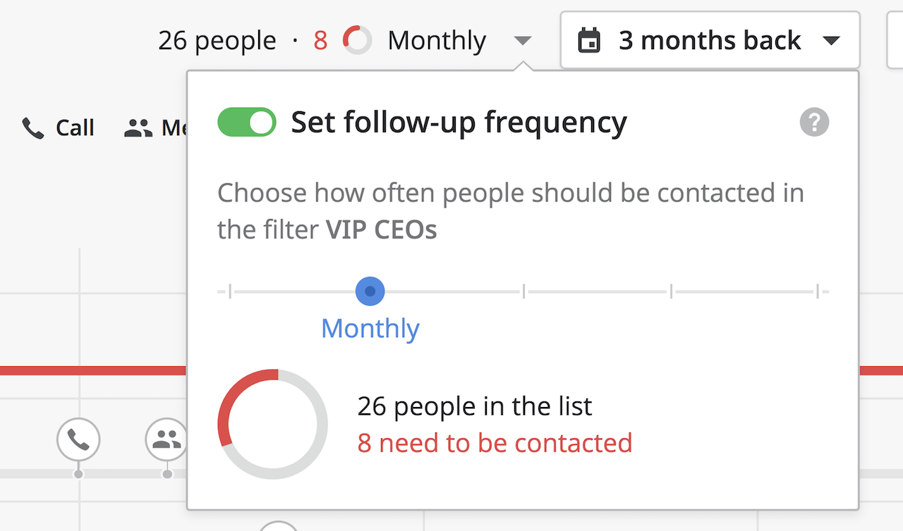 Set Follow-Up Frequency in Pipedrive