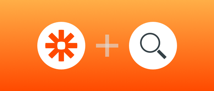 Zapier search actions