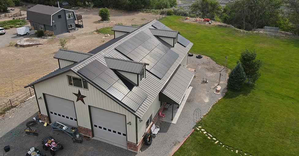 big dog solar installation