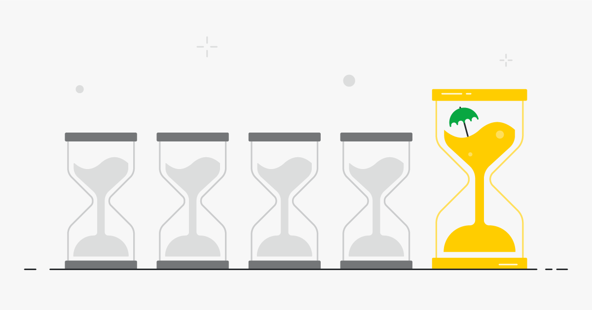 four day week sales marketing hourglasses