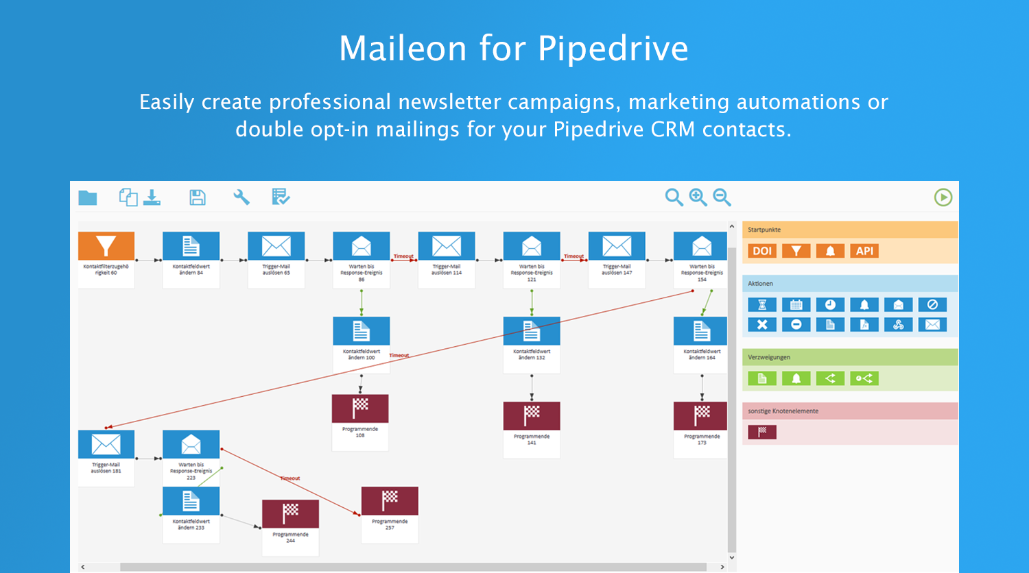 Maileon for Pipedrive